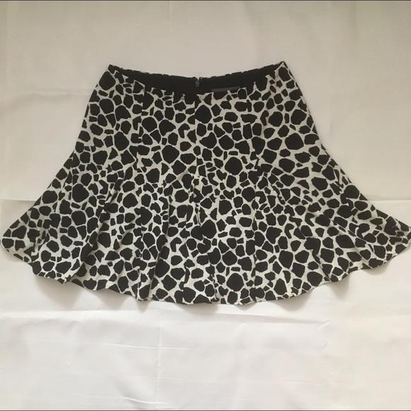 PJK Patterson J. Kincaid Dresses & Skirts - PJK Patterson J Kincaid Animal print flounce mini